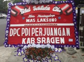 DPC PDI Perjuangan Sragen Tengah Berduka