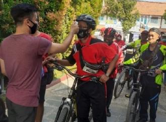 Masuki Bulan Kemerdekaan, Banteng Brebes Ajak Rutin Gowes