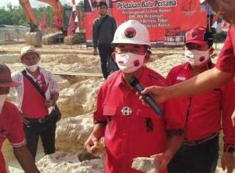 Rudianto Harap Gedung DPC Beltim Tambah Militansi Kader