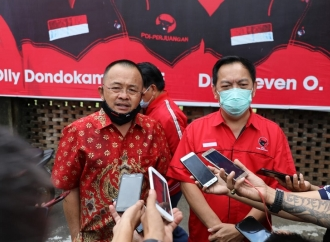 Pilkada Tomohon, Megawati Restui Carol Senduk-Wenny Lumentut