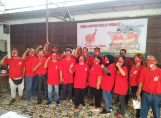 Kader & Relawan Banteng Gotong Royong Menangkan Gibran-Teguh
