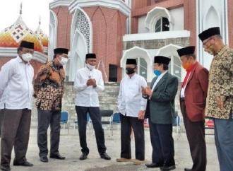 Nurdin Pastikan Pembangunan Masjid 99 Kubah Tuntas