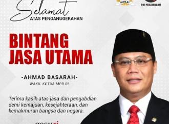 GMNI Apresiasi Penganugerahan Bintang Jasa Ahmad Basarah