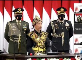 Presiden Pakai Tenun Ikat Sabu, Ansy: Membanggakan!