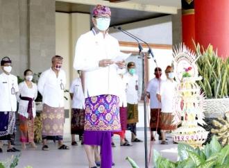 HUTBali, Banteng Badung Gelar Pasar Gotong-royong