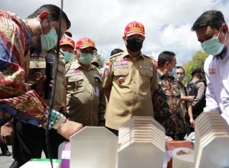 Juliari Aktivasi 10 Kampung Siaga Bencana di Kulon Progo