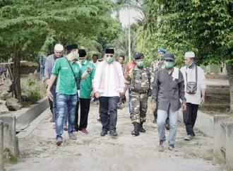 Anton Saragih Silaturahmi ke Masyarakat Nagori Purbaganda