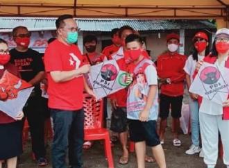 PDI Perjuangan Malalayang Sponsori Lomba Liga Langit