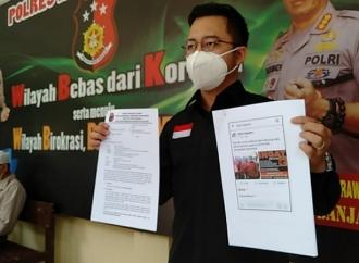 PDI Perjuangan Banjarmasin Laporkan Facebook Ryan Saputra