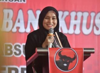 Ratu Munawaroh Hadiri Rakercabsus Banteng Tanjab Timur