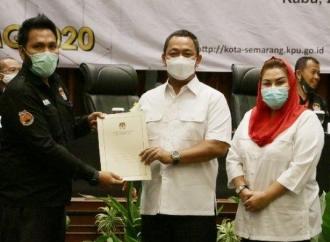 Sah, Hendi-Ita Jadi Calon Tunggal di Pilwalkot Semarang