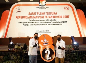 Pilkada Medan, Bobby Nasution-Aulia Siapkan Kampanye Virtual