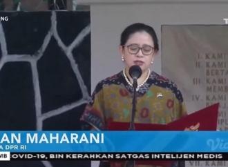 Puan Bacakan Ikrar di Peringatan Hari Kesaktian Pancasila