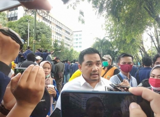 Berani Sambangi Aksi Demonstrasi, Rifqi Jelaskan Hal Ini