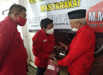Andreas Siap Gerakan Mesin Partai Untuk Menangkan SanDi