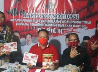 Menangkan Pilkada, Banteng Boltim Kedepankan Politik Santun