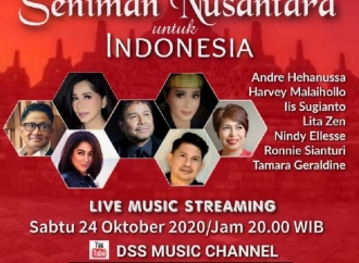 Seniman Nusantara Gelar Konser Amal Bertajuk KONSER 7 RUANG