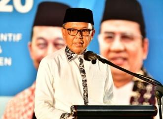 HSN 2020, Nurdin Serahkan Bantuan Untuk 2.500 Guru Ngaji