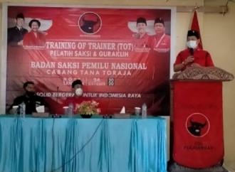 Banteng Tana Toraja Gelar Pelatihan, Panaskan Mesin Partai
