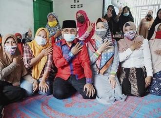 Anton Saragih Sambangi Warga Nagori Silau Manik