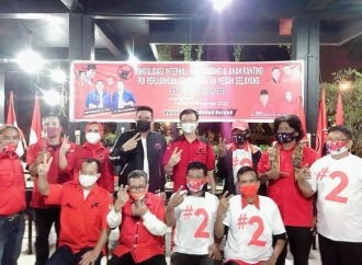 Konsolidasi Banteng Medan Selayang Menangkan Bobby-Aulia