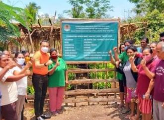 Ansy Tinjau Kebun Bibit Rakyat di Kupang