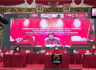 Megawati Instruksikan Terus Bangun Kantor Partai Bagi Rakyat