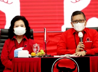 Sekjen Hasto: Elektabilitas PDI Perjuangan Naik
