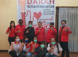 PAC PDI Perjuangan Ciracas Gelar Donor Darah Keliling