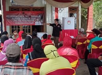 PDI Perjuangan Sidoarjo Pelatihan Saksi di 18 Kecamatan