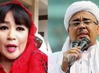 Dewi Tantang Habib Rizieq Perlihatkan Hasil Swab Test!