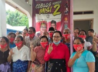 Maria Berkomitmen Jadikan Hutan Kota Sebagai RTH