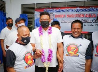 Bobby Nasution Didukung Penuh Komunitas Disabilitas