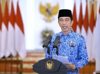 Presiden Apresiasi Semangat Pengabdian Korpri Saat Pandemi