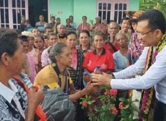 Serap Aspirasi, Ansy Blusukan ke 8 Desa di Miomaffo