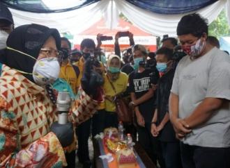 Risma Minta Anak Jalanan di Mojokerto Tak Terlibat Narkoba