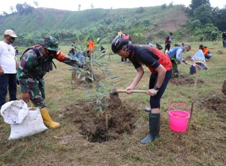 Ganjar Ajak Masyarakat Hijaukan Kembali Lahan-Lahan Kritis