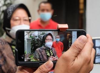Risma Pastikan Pemerintah Gercep Penanganan Dampak Bencana