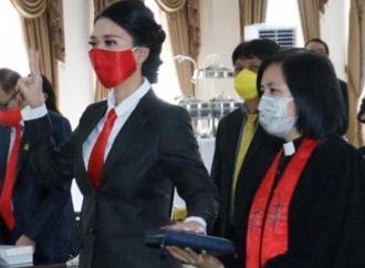 Sah! Cynthia Wongkar Jadi Anggota DPRD Tomohon