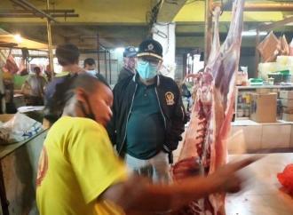 Sidak Pasar Cikupa, Ananta Terima Curhatan Pedagang Daging