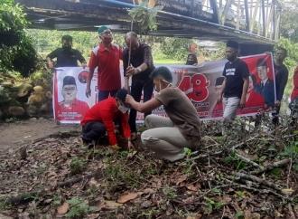 HUT Megawati, PDI Perjuangan Muba Tanam Ribuan Pohon
