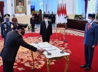 Naik Satu Tingkat, Listyo Sigit Prabowo Sah Jadi Kapolri