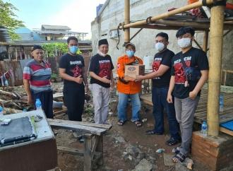 Repdem Tangsel Kerahkan Pasukan Bantu Korban Banjir