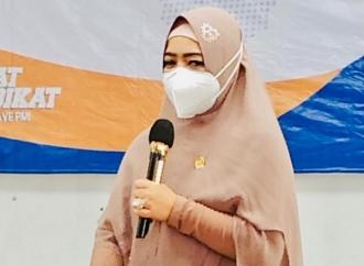 Dewi Kenalkan Peluang Kerja ke Karang Taruna Kab Tegal