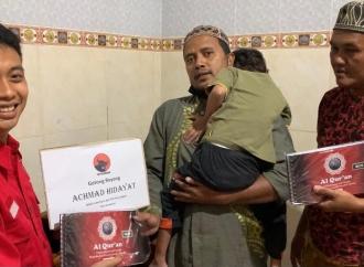 Banteng Kota Surabaya Serahkan Bantuan Al Qur'an Braille