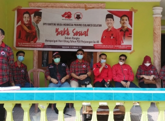 BMI Sulsel Gelar Aksi Sosial di Pulau Langkai