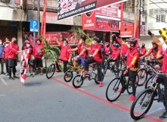 Politik Hijau Yasonna & Bobby Gowes Bersama di Kota Medan