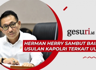 Herman Herry Sambut Baik Usulan Kapolri Terkait UU ITE
