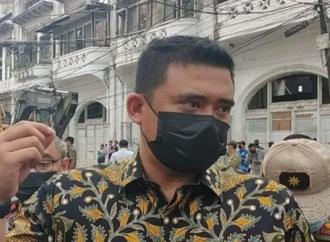 Wali Kota Bobby Robohkan Bangunan Ilegal di Kesawan