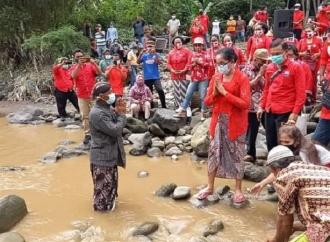 Sungai Progo Mau Ditambang, Esti : Jangan Rusak Lingkungan!